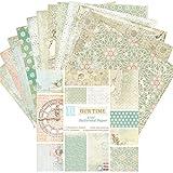 coil.c Scrapbooking Papier Dekorpapier Designpapier Bastelpapier, 6-Zoll...