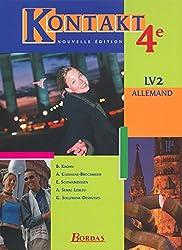 Kontakt 4e LV2  Manuel de l'élève (Ed. 2002)