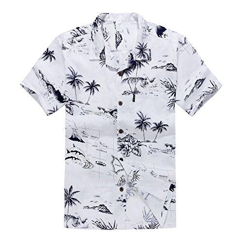 Camisa-hawaiana-de-Luau-del-Hawaiian-del-muchacho-T-Shirt-Solamente-en-el-mapa-y-la-persona-que-practica-surf-blancos-16-Aos