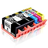 5 LEMERO Kompatibel HP 903XL 903 XL Hohe Ausbeute Druckerpatronen für HP OfficeJet Pro 6860 6868 6960 6970 6975 6978 6950 All-in-One Drucker,2Schwarz Cyan Magenta Gelb