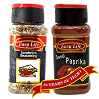Easy Life Combo of Sandwich Seasoning 40g and Sweet Paprika 70g