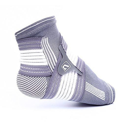 Supporto Caviglia Regolabile Liveup Sports Cavigliera Sportiva Elastica con Cinghie Elastiche Velcro Tutore per Piede Supporto Fascia Caviglia