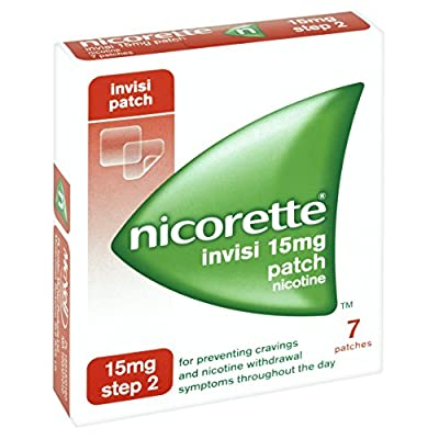 Nicorette Step 2 Invisible Nicotine Patches 15 mg from Johnson & Johnson