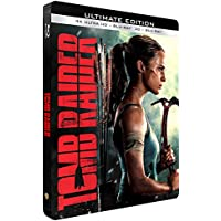 Tomb Raider (2018) - Ultimate Edition - Edition limitée Steelbook Blu-Ray 4K Ultra HD + 3D + 2D Blu-Ray