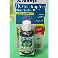 Tetesept Bronchial-aktiv Hustentropfen Zuckerfrei, 40ml preisvergleich bei billige-tabletten.eu
