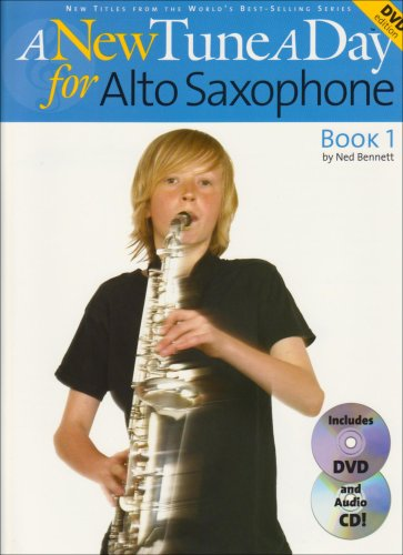 A New Tune a Day: Alto Saxophone - Book 1 (DVD Edition) (New Tune a Day Book & CD + DVD)