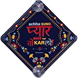 Happipress Pyaar Kar Lo Car Sign/Car Sticker