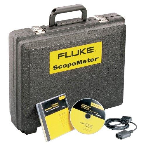 Fluke software scc120e vista industriale + Cavo USB + Custodia, 120serie, inglese