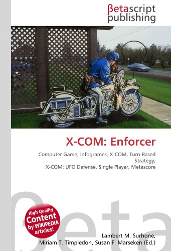 X-COM: Enforcer: Computer Game, Infogrames, X-COM, Turn-Based Strategy, X-COM: UFO Defense, Single Player, Metascore