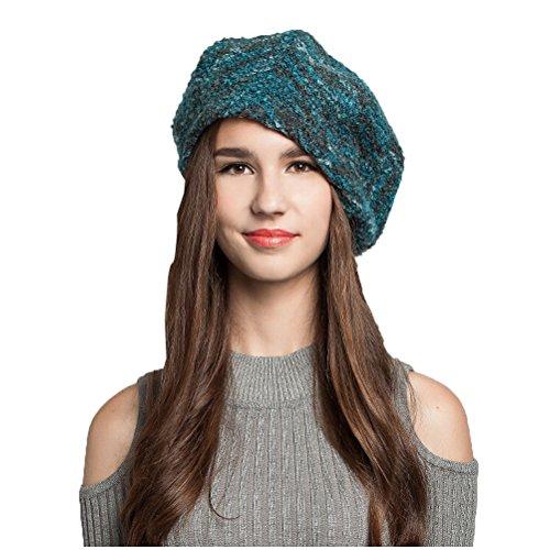 Maitose™ Frauen Wool Beret Blau
