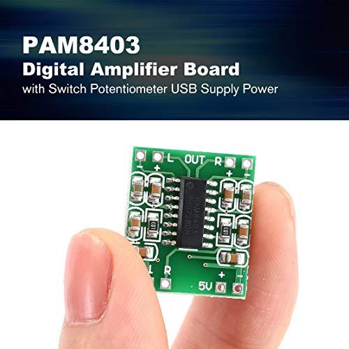 PAM8403-Super-Mini-Scheda-dellamplificatore-digitale-5V-Scheda-dellamplificatore-di-potenza-Efficiente-con-interruttore-Potenziometro-Alimentazione-elettrica-USB-Verde