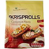 KRISPROLLS Céréales et Fibres 225 g - Lot de 5