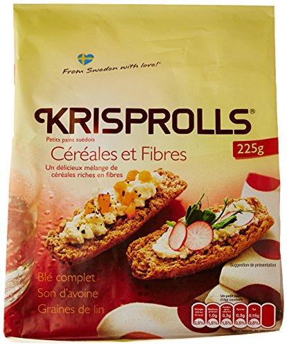 Krisprolls Céréales et Fibres 225 g