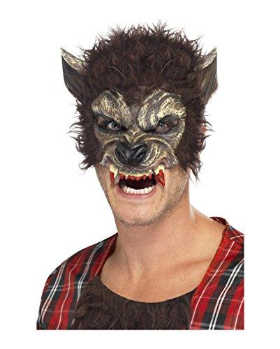 Werwolf Vinylmaske (Werwolf Maske Halloween)