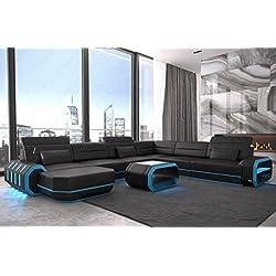 XXL Conjunto de Muebles Para Salón ROMA CON LED