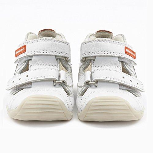 Biomecanics , {Chaussures premiers pas pour bébé (garçon) Blanc blanc 23 Blanc
