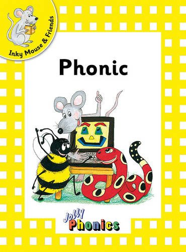 Jolly Phonics Readers, Inky & Friends: In Precursive Letters (BE): Inky Mouse and Friends Level 2 (Jolly Readers)