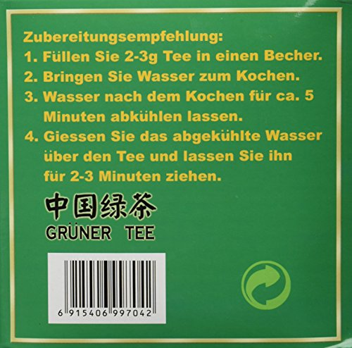 Greeting Pine Grüner Tee, 1er Pack (1 x 1 kg Packung)