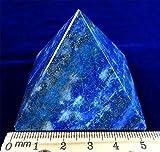 Große Lapislazuli Chakra Spirituelle Heilung Kristall Gem Pyramide, 50mm große Basis Beverly Eichen...