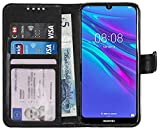 Gadget Giant Wallet Case for Huawei Y6 2019 / Honor 8a PU