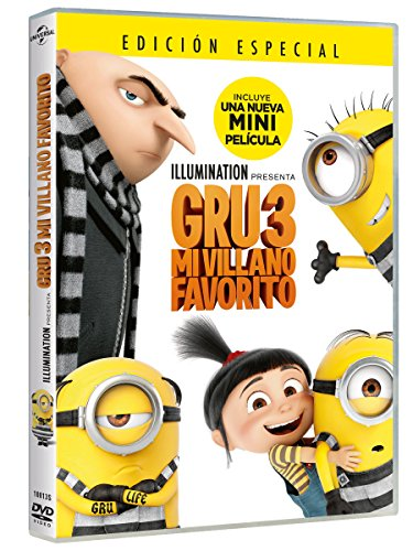 Gru 3: Mi Villano Favorito [DVD]