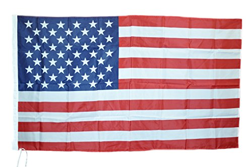 G.V. Flag USA TIFO National Star & Stripes Vereinigte Staaten Amerika cm90x150 Hohe Qualität Stoff Resistant