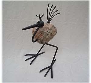steinvogel modell goran 30 ca h 40 cm dekovogel aus. Black Bedroom Furniture Sets. Home Design Ideas