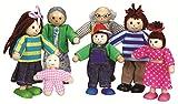 Lelin Puppen-Haus-Figuren aus Holz