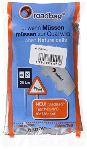 Brunner Campingartikel Roadbag - Tasche WC für Männer, 301/082