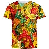 Old Glory Süßigkeiten Gummibärchen Aller Erwachsenen T-Shirt-groß