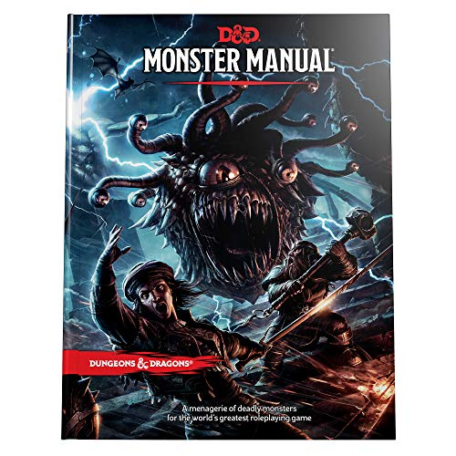 Monster Manual: A Dungeons & Dragons Core Rulebook por Wizards Of The Coast