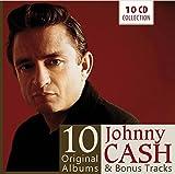 Johnny Cash : 10 Original Albums & Bonus Tracks