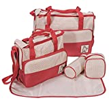 Baby Bucket 5pcs/set Baby Diaper Bag Nap...