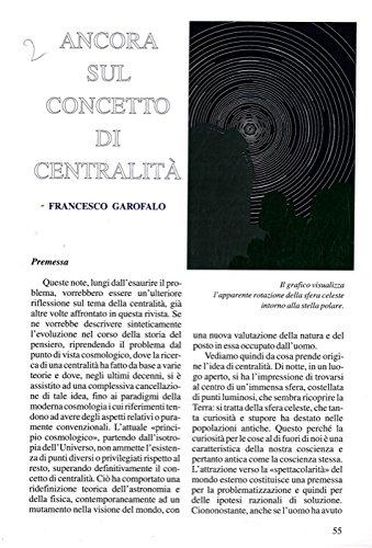 Ancora sul concetto di centralita'.