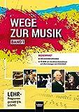 Wege zur Musik 1 NEU, Medienpaket: 5 CDs, 1 DVD, 1 CD-ROM - Walter Knapp