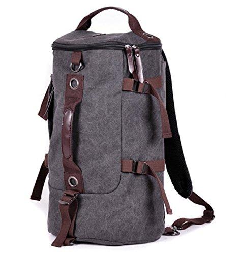 Escursionismo Zaini, borse, borse da trekking, borse all'aperto, impermeabile Con spallamento doppio sacco Sacco Sacco Sacco sacco bag,grigio gray