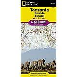 TANZANIA/RWANDA/BURUNDI  1/1M315