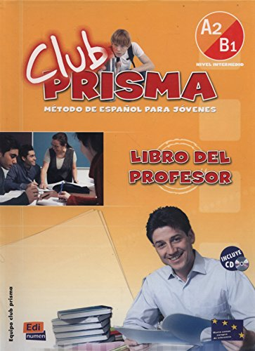 Club Prisma A2/B1 - Libro profesor + CD