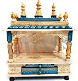 D'Dass Wooden Vintage Home Temple for ho...