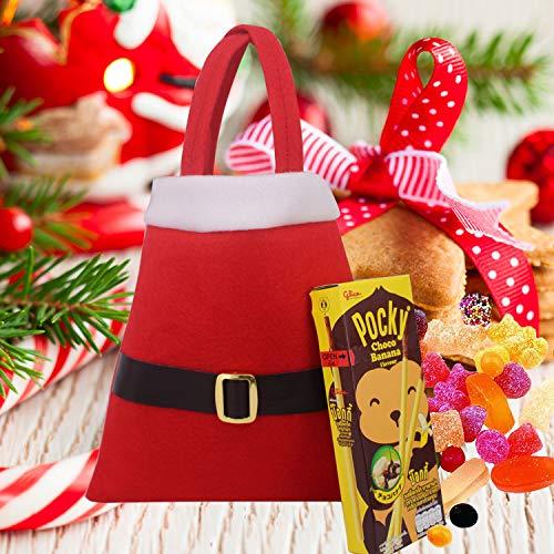 Huihuger Christmas Decor Christmas Bag Gürtelschnalle Einkaufstasche Candy Bag Geschenk Tasche Weihnachten Supplies