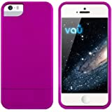 vau Snap Case Slider - matte purple - zweigeteiltes Hard-Case für Apple iPhone 5 & iPhone 5S