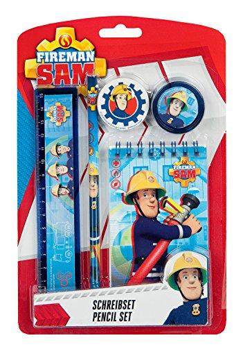 Schreibset, Feuerwehrmann Sam, 5 teilig