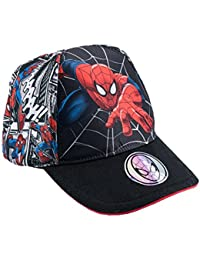 Spiderman Jungen Cap - schwarz