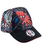 Spiderman Jungen Cap - schwarz - 52
