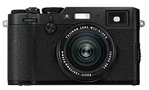 Fujifilm X100F Kompaktkamera mit 24,3 Megapixel X-Trans CMOS III Sensor Schwarz