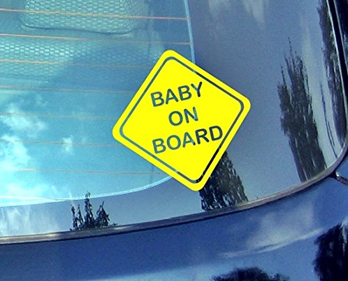 Baby On Board???Enfants Autocollant de voiture Drift Bumper fen?tre de voiture en vinyle dr?le van pour ordinateur portable C?ur D?cor Home Live enfants Funny Art mural Decal Stickers