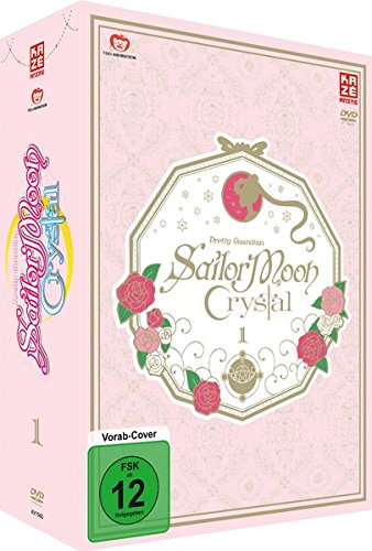 Sailor Moon Crystal - DVD 1 - LE [Limited Edition] (Anime Kostüm Zeichnung)