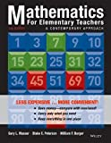 Mathematics for Elementary Teachers, Binder Ready Version: A Contemporary Approach