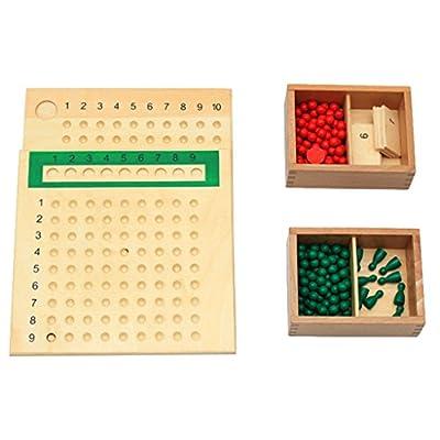 Montessori Juguetes Educativos Multiplican Y Dividen Matemáticas de Generic