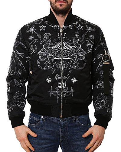 givenchy-mens-17s0806723001-white-black-polyamide-outerwear-jacket